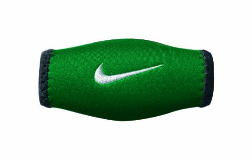 Nike Chin Shield (Green/White, Osfm) - Nike Chin Strap