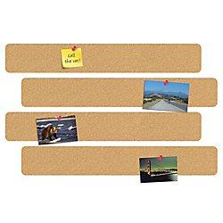 Bar Bulletin (FORAY(TM) 10in. Cork Bulletin Bars, Pack Of 4)