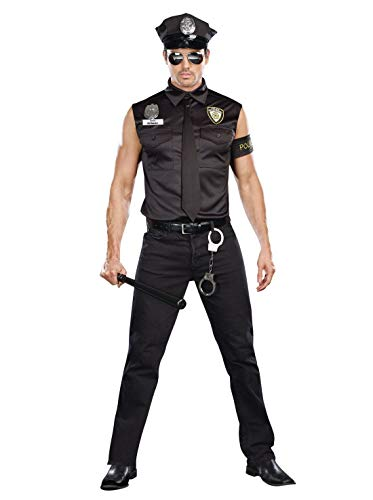 ESSA OAT clothes series Cop Police Officer Ed Banger Adult Costume ()