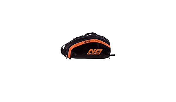Nb Enebe - KX Compact Racket Bag, Color Naranja,Negro: Amazon.es ...