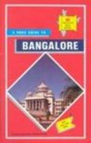 - Bangalore City Map (TTK discover India series)