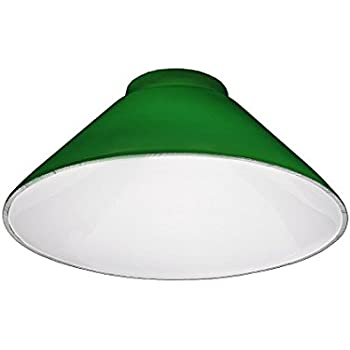 Upgradelights green cone lamp shade replacement with 3 14 inch upgradelights green cone lamp shade replacement with 3 14 inch fitter mozeypictures Images