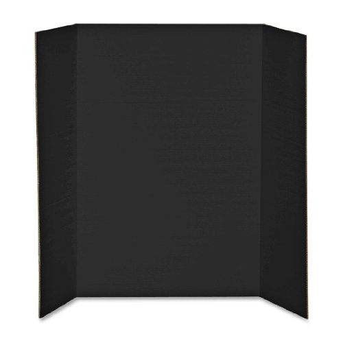 Elmers Display Board (Elmer's Heavy-Duty Tri-Fold Display Boards, 36 x 48 Inches, Black, 12-Count (730191))