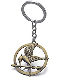 The Hunger Games Movie Catching Fire Mockingjay Metal Keychain Keyring US Seller