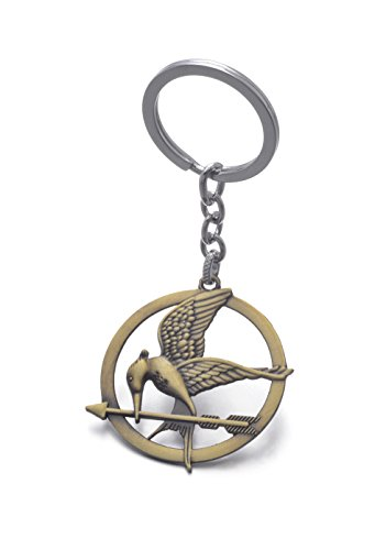 REINDEAR The Hunger Games Movie Catching Fire Mockingjay Metal Keychain Keyring US Seller (Style #1)