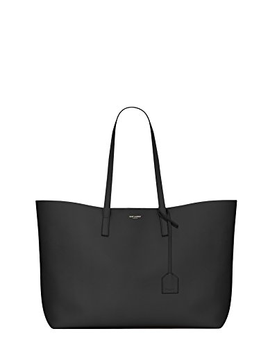 Saint Laurent Women's 394195Csv0j1000 Black Leather Tote