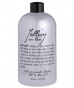 falling in love shower gel | perfumed shampoo, bath & shower gel | philosophy