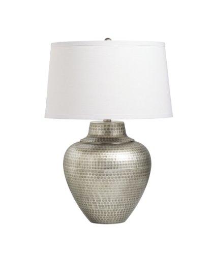 Missoula 1 Light (Kichler Lighting 70334AP Missoula 1-Light Table Lamp, Antique Pewter Finish with Linen Fabric Hard Back)