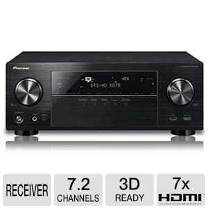 Pioneer VSX-1124 7.2-Channel Network A/V Receiver (Black)