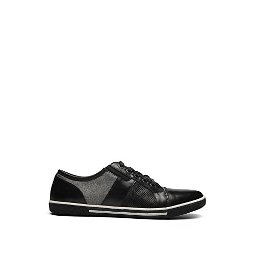 Crown Tie (Reaction Kenneth Cole Tie and Crown Mixed Media Sneaker - Men's - Black)
