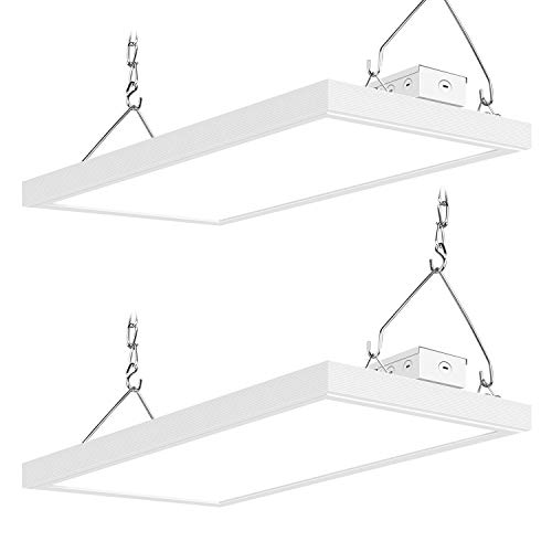 2 Pack 2ft Linear High Bay Led Shop Light Fixture 110wequivalent