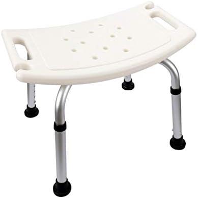Dusch Badestühle Duschstuhl Duschsitz Duschhocker Höhenverstellbarer Badstuhl Aluminiumlegierung Anti-Rutsch-Badstuhl for Ältere Menschen Mit Behinderungen Hilfsmittel für Bad