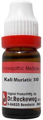 Dr. Reckeweg Germany Homeopathic Kali Muriaticum (30 CH) (11 ML) by Exportdeals