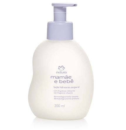Linha Mamae Bebe Natura - Locao Hidratante Corporal 200 Ml - (Natura Mom and Baby Collection - Body Moisturizing Lotion 6.76 Fl Oz) by Natura
