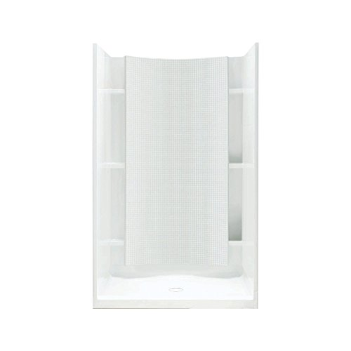 sterling plumbing accord shower kit 36inch x 36inch x 77inch white