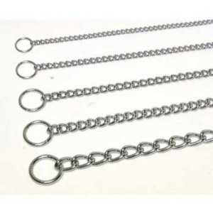 Four Paws Pet Products DFP813 2-1/2mm by 14-Inch Dog Chain Choke, -