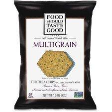 - Food Should Taste Good Multigrain Tortilla Chips, 24 Count