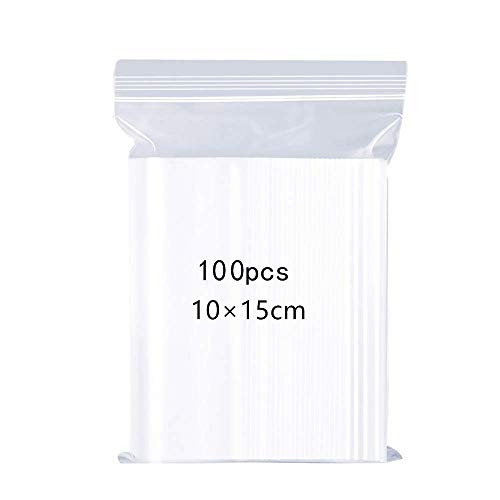 """500  3.5/"""" x 4.5/"""" Clear Resealable Plastic Bag High-Quality Storage Bags  Zipper"""