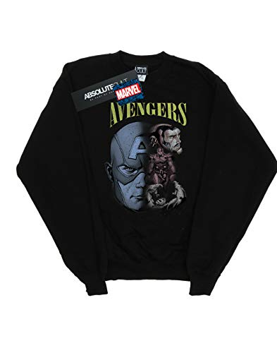Camisa Negro Entrenamiento Mujer De Marvel Avengers Homage xnHtwnCvq