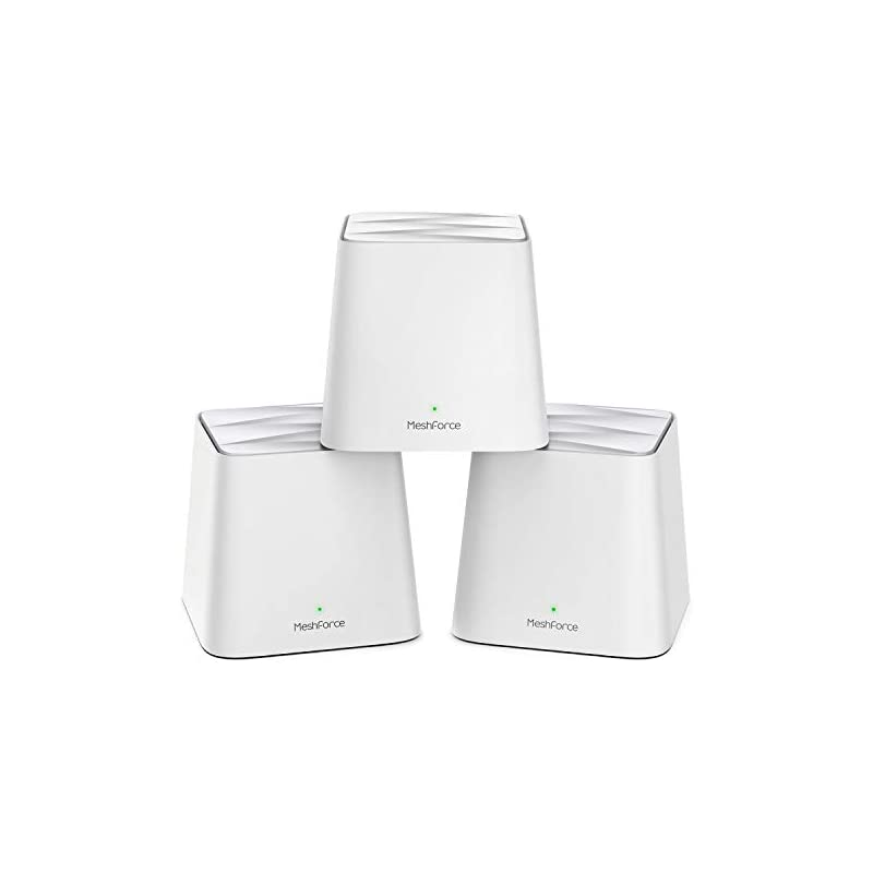 MeshForce Whole Home Mesh WiFi System (3