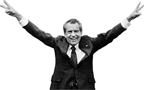 MAGNET Nixon Helicopter Peace Sign Magnet Decal Fridge Metal Magnet Window Vinyl 5