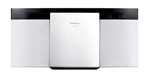 Panasonic compact stereo system Bluetooth-enabled SC-HC295-W (White)