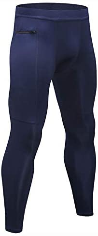 [해외]LANBAOSI 남성용 스포츠 열 압축 팬츠 포켓 러닝 운동 레깅스 베이스 레이어 타이츠 / LANBAOSI 남성용 스포츠 열 압축 팬츠 포켓 러닝 운동 레깅스 베이스 레이어 타이츠