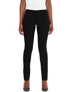 Women's Mid Rise Skinny Jean