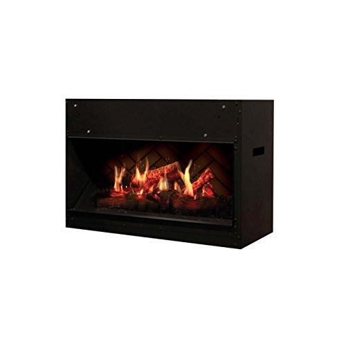 Dimplex VF2927L Opti-V Solo Fireplace, Black by Dimplex