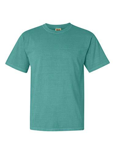 Comfort Colors Pigment-Dyed Short Sleeve Shirt, Seafoam, 3XL