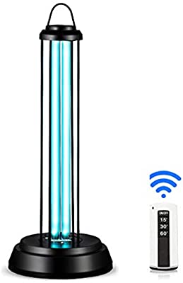 HLLZRY UV desinfección de la luz de la lámpara del purificador de ...