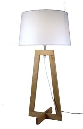 Aluminor SACHA LT AJ2 - Lámpara de madera (E27)