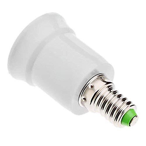 LIXDE E14 to E27 Lamp Socket Adapter Converter Holder for Led Edison Bulb Convert Screw Socket Lamp Convertor Adaptor