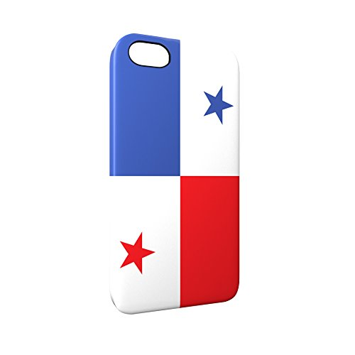 Flag of Panama Glossy Hard Snap-On Protective iPhone 5 / 5S / SE Case Cover