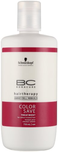 Schwarzkopf Bc Color Save Treatment for Color Treated Hair, 25 Ounce