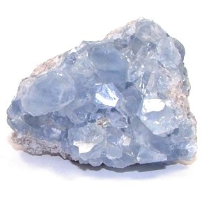 GeoFossils Celestine/Celestite Crystal Cluster - Astral Travel, Access Akashic Records