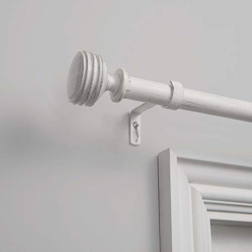 Exclusive Home Curtains Duke Curtain Rod and Finial Set 36