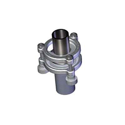 ACE Glass 12187-35 Coupling Clamp, Secures 35/25 Glass Joint to 35/25 Stainless Adapters, 304 Stainless Steel