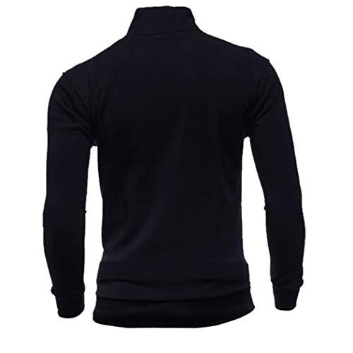 Sweatshirt Zipper Sports Slim Manches Manteau Ciellte Capuche Basique Pull Hiver Automne Hoodies Taille Homme Grand Confortablee À Noir Longues Fit wPP4qxI