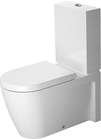 Duravit Starck 2 Stand-WC Kombination (ohne Spülkasten, ohne Deckel ...