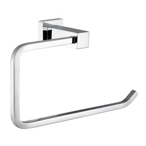 80%OFF Angle Simple GC2210 Solid Brass Bathroom Towel Ring Towel Holder, Chrome