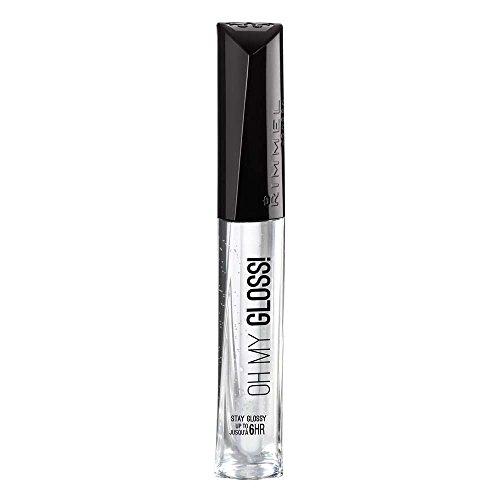 Rimmel Oh My Lip Gloss, Crystal Clear, 0.21 Fluid Ounce