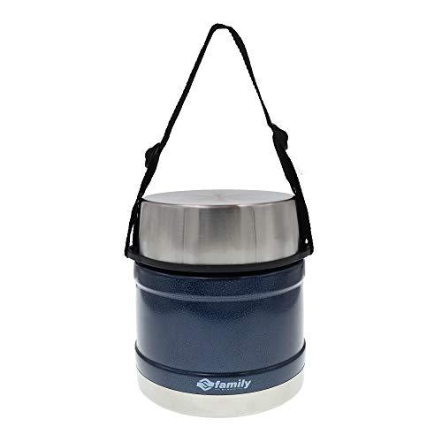 Termo para Comida 1200ml, Frasco Aislada de Acero Inoxidable para Alimentos Bebida Sopa Termo Termico para Solido y Liquido para Adultos Ninos y Bebes (Azul)