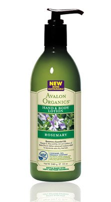 Avalon Organics Rosemary Hand and Body Lotion, 12 Ounce -- 3