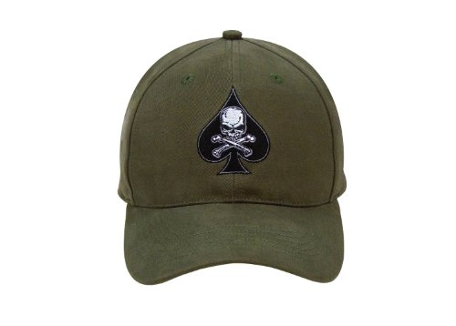 Rothco Low Profile Cap/Death Spade, Olive Drab