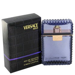 Versace Gift Set Spray (Versace Man by Versace Gift Set -- 3.3 oz Eau De Toilette Spray (Eau Frachie) + 3.3 oz Shower Gel (Men))