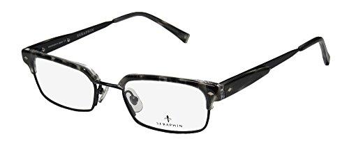 Seraphin Fremont Mens/Womens Designer Full-rim Titanium Eyeglasses/Glasses (51-19-145, Black / - Women Rim Who Men