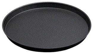 Pizzablech /Ø 50 cm geb/ördelter Rand