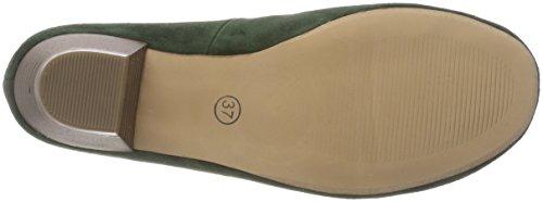 Mujer tanne Cerrada Tacón Hirschkogel Punta Verde De 3005706 Para Zapatos Con 147 ZC668Rxqw