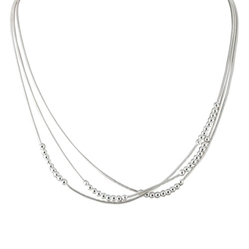 Canyon - Collier multi rangs - Argent 925 - 45 cm - C9457